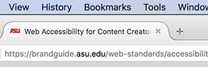 Page title is displayed in the browser tab